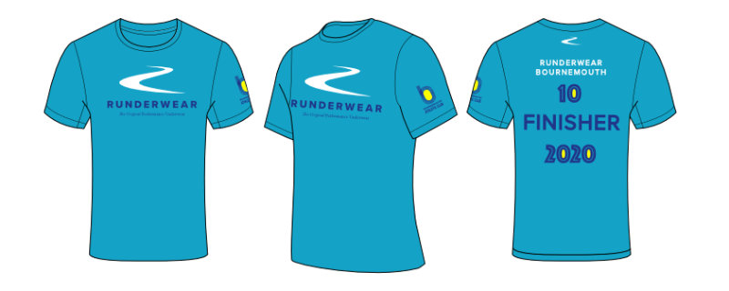 Runderwear Virtual 10mile T-shirt design